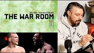 PETR YAN VS ALJAMAIN STERLING UFC 259 - THE WAR ROOM, DAN HARDY BREAKDOWN EP. 103
