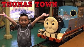 Thomas The Tank Engine Indoor Playground Theme Park Fun Thomas Town Malaysia CKN Toys