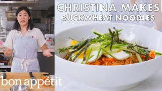 Christina Makes Buckwheat Noodles | From the Test Kitchen | Bon Appétit