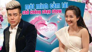 Bà xã Lê Dương Bảo Lâm 4 giờ sáng gọi điện nát SHOWBIZ - một mình cầm lái chở chồng chạy show 🤣