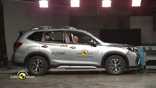 Euro NCAP Crash & Safety Tests of Subaru Forester - 2019 - Best in Class - Small Off-Road/MPV