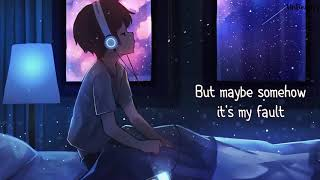 「Nightcore」→  Be Somebody (Lyrics)