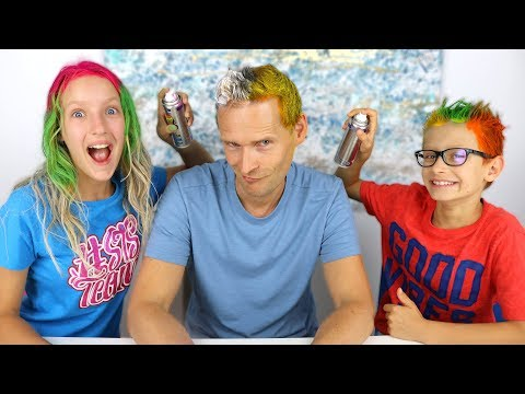 3 COLOR OF HAIR DYE CHALLENGE!!!