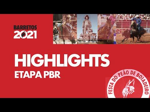 Barretos 2021 - Highlights PBR Brasil (Round 1)