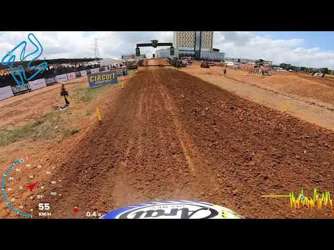 First GoPro Lap with Henry JACOBI MXGP of Indonesia 2019 #motocross