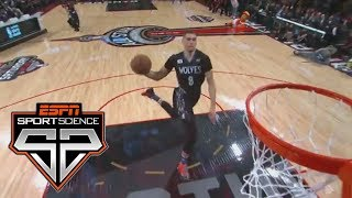 Free Throw Line Dunks   Sport Science   ESPN Archives