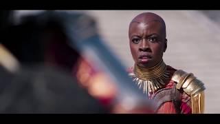 Black Panther (2018) - Killmonger vs Dora Milaje - Full Fight Scene HD - Supercut