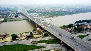 Cầu Đông Trù - Cây cầu rộng nhất Việt Nam