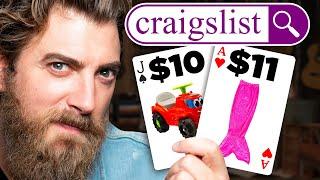 Weird Craigslist Item Blackjack (GAME)