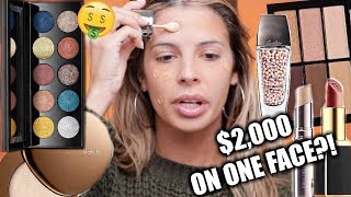 USING $2,000 WORTH OF MAKEUP IN ONE TUTORIAL