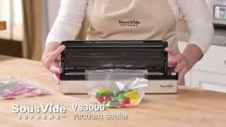 New VS3000 Vacuum Sealer - SousVide Supreme