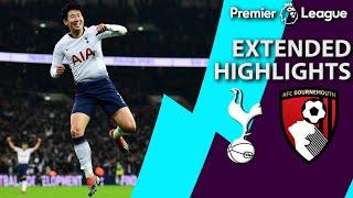 Tottenham v. Bournemouth | PREMIER LEAGUE EXTENDED HIGHLIGHTS | 12/26/18 | NBC Sports