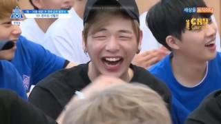 [VIETSUB] Ong Seongwoo và Huyền thoại máy đấm bốc @ Produce 101 Season 2 Ep 8