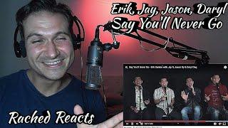 Coach Reaction - Say You'll Never Go - Erik Santos with Jay R, Jason Dy & Daryl Ong