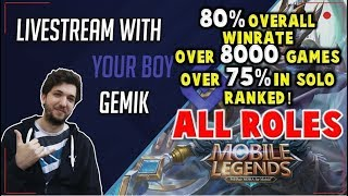 Duo /w CarlsenOP  ! Mythic 2 - 86% wr season 14 -  MOBILE LEGENDS LIVE