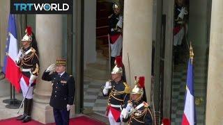 New French President: Emmanuel Macron's inauguration underway