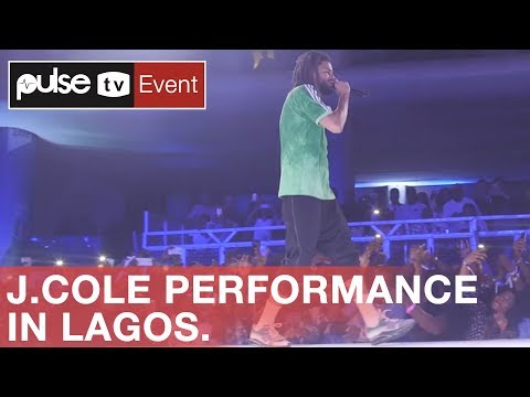 J. Cole Live in Lagos (FULL PERFORMANCE) | Pulse TV