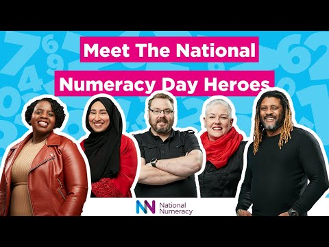 UK's first ever virtual festival of numbers to help a nation at home with maths, from National Numeracy