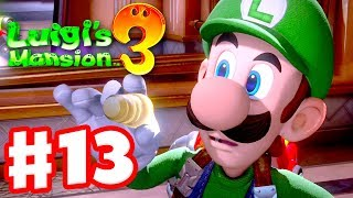 Luigi's Mansion 3 - Gameplay Walkthrough Part 13 - That Darn Cat! (Nintendo Switch)