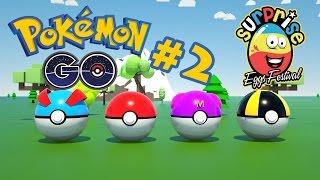 Pokemon Go Surprise Egg Opening #2 - Cartoon Videos For Kids by Surprise Eggs Festival