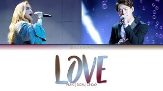 AILEE (에일리) – Love (Feat. 첸 (Chen)) (HAN/ROM/INDO Color Coded Lyrics/가사)