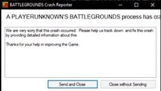 PUBG freeze fix / loading screen crash (2018)