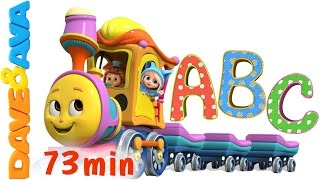 Learn Colors, Numbers and ABCs. ABC Songs for Kids. Alphabet Song. Nursery Rhymes from Dave and Ava