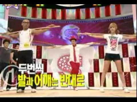 SNSD Jessica teach you how to Workout