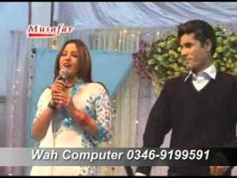 mata khpal zan owaya ( shaaz khan & asma lata ) pashto MUSAFAR NEW YEAR SHOW 2011