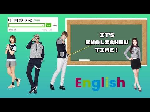FUNNY K-POP IDOLS SPEAKING ENGLISH