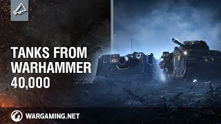 Warhammer 40K invading World of Tanks Blitz