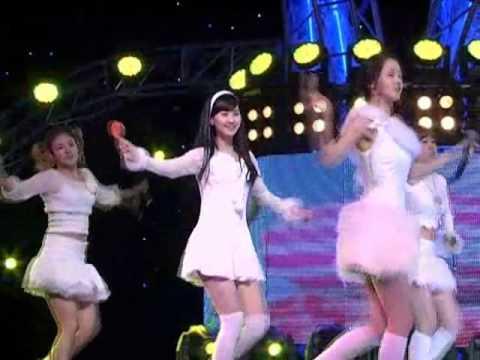 SNSD-Kissing u (소녀시대-키싱유) @SBS Inkigayo 인기가요 20080120