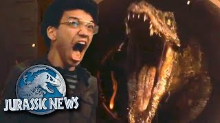 CARNOTAURUS CONFIRMED + TRAILER REACTION AND THOUGHTS | Jurassic World News Update