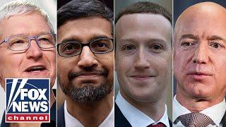 Bezos, Zuckerberg, Cook and Pichai testify before House
