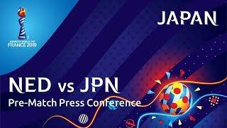 NED v. JPN - Japan Pre-Match Press Conference