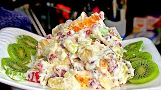 Quick Russian Salad Recipe For Beginners - Salad Recipe - How To Make Russian Salad