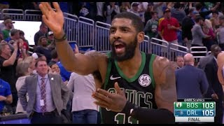 Kyrie Irving Complains to Gordon Hayward After Not Getting Celtics' Last Shot