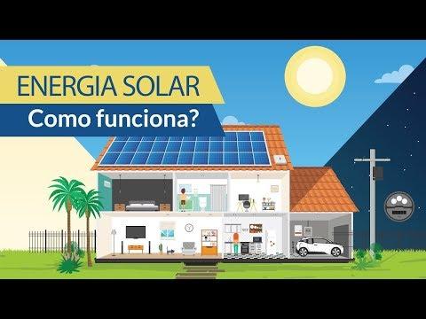 ENERGIA SOLAR - Como Funciona?