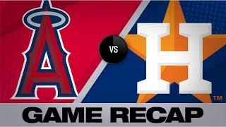 Gurriel's homer propels Astros over Angels   Angels-Astros Game Highlights 8/23/19