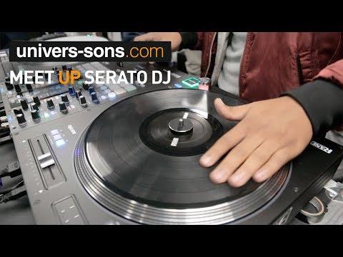 Vidéo Meet UP Serato - DJ et DJ-CITY Univers Sons