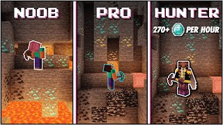 Minecraft Top 3 Ways to Find Diamonds   Survival Tested - [270+/Hour]