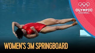 Women's 3m Springboard Diving Final   Rio 2016 Replay