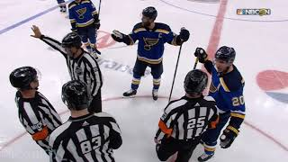 Sharks win in OT and the Blues threaten to murder the refs, a breakdown
