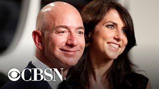 Amazon CEO Jeff Bezos and wife announce divorce