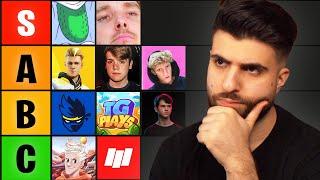 Fortnite YouTubers I can BEAT in a 1v1...