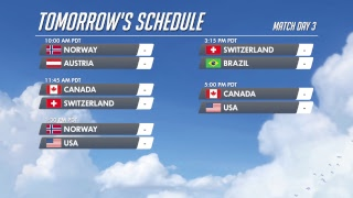 Overwatch World Cup USA 2018 - Day 2 - YouTube