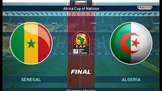 PES 2019 | SENEGAL vs ALGERIA | FINAL Africa Cup