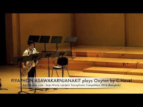 PIYAPHON ASAWAKARNJANAKIT plays Oxyton by C Havel
