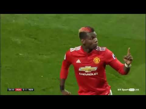 Manchester United vs Newcastle 4 1 ~ All Goals & Highlights 18 11 2017