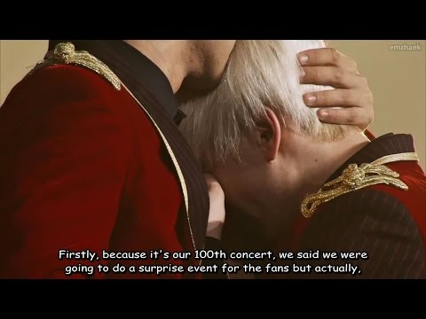 [ENG SUB] HD Super Junior SS6 DVD - 100th concert ment & cake
